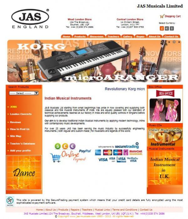 Jas Musicals Ltd