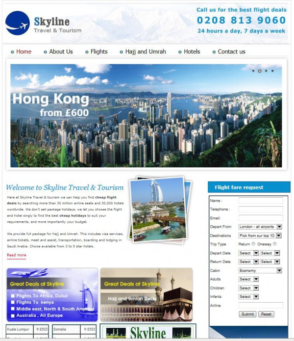 Skyline Travel & Tourism